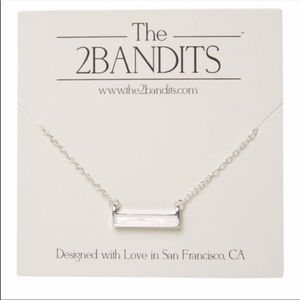 The2Bandits Athens 16 inch 3 inchextender necklace